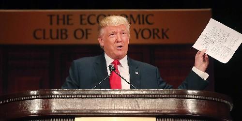 Economists: The US could lose $1 trillion by 2021 under Trump's economic plan
