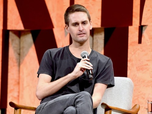 Evan Spiegel named a new chief business officer for Snap before giving the job to someone else two days later