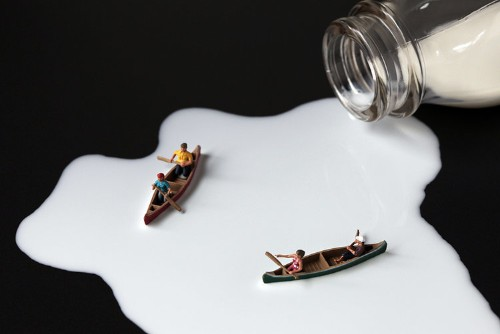 This photographer creates amazing imaginary worlds out of everyday food items