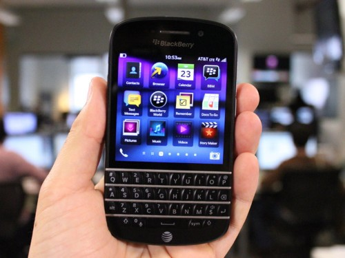 BlackBerry Q10 Review: The Keyboard Is Back