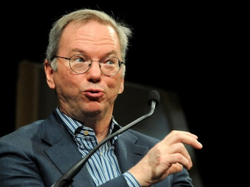 Alphabet's Eric Schmidt: 'Big data is so powerful, nation states will fight' over it