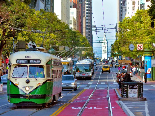 San Francisco officials unanimously approve Market Street car ban - Business Insider