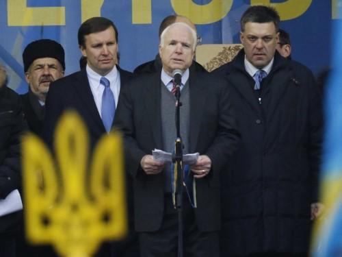 Sen. John McCain: Send Weapons To Ukraine