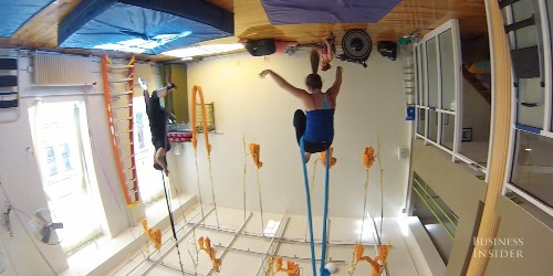 This Gravity-Defying Hobby Requires Some Serious Core Strength