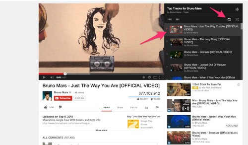 Use This Hidden Feature In YouTube To Stream An Unlimited Amount Of Music