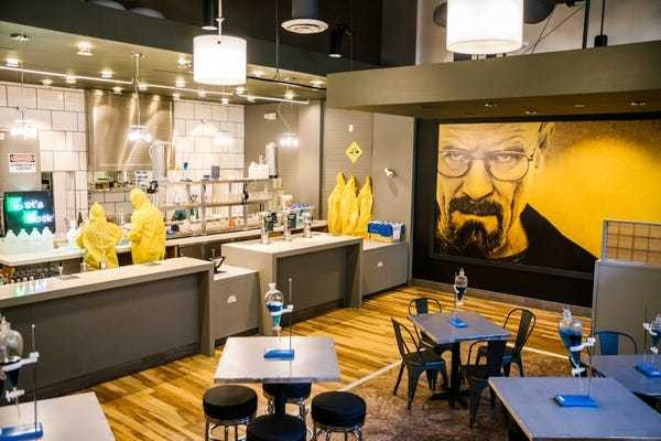'Breaking Bad' pop-up opens in Los Angeles after 'El Camino' premiere - Business Insider