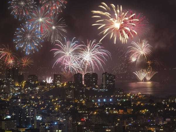 Most over-the-top New Year's Eve celebrations around the world - Business Insider