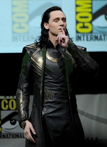 Fans Went Wild When Tom Hiddleston Showed Up As 'Avengers' Villain Loki At Comic-Con
