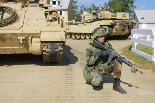 US military exercise sparks fears of martial law