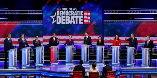Here's what people searched for during the first 2020 Democratic debate