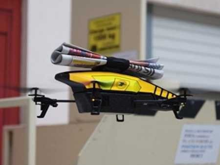Drones Will Not Deliver Your Newspaper, At Least Not For Now*
