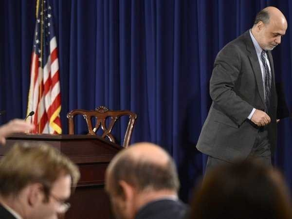 Tomorrow Is Bernanke's Last-Ever Scheduled FOMC Press Conference