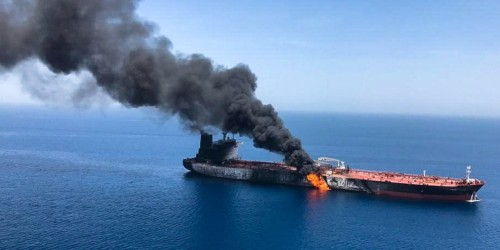 Trump admin. dodges questions on possible UN probe into tanker attacks