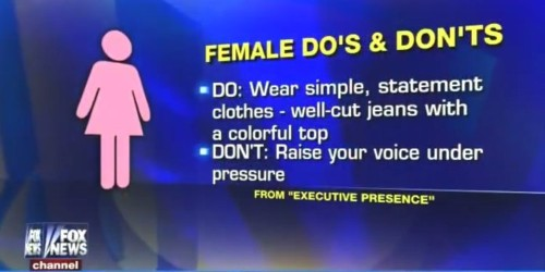 Businesswomen Should Wear Simple Clothes And Never Raise Their Voices Under Pressure