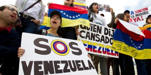 Trump leaves 'military option' on the table for Venezuela, which he calls as threatening as North Korea