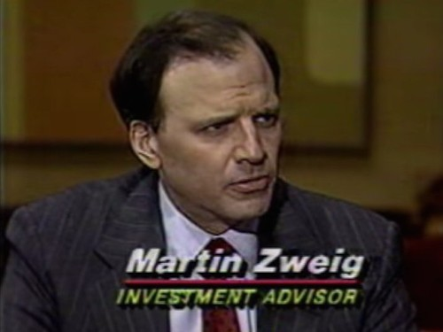 Watch Martin Zweig Predict A Market Crash The Friday Before 'Black Monday'
