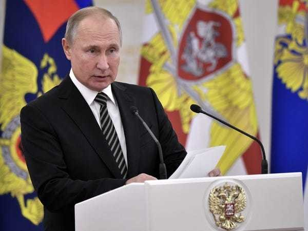 Putin proposes to replace Wikipedia with a 'Big Russian' version - Business Insider