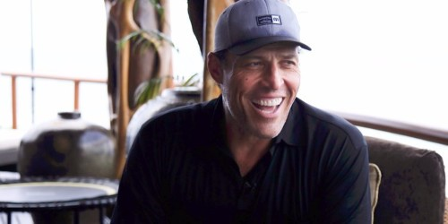 Tony Robbins starts every morning with an 'adrenal support cocktail,' a 'priming' meditation exercise, and a workout involving a 'torture machine'