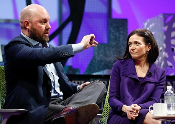 Facebook stock dropped following the news that Marc Andreessen sold most of his stake