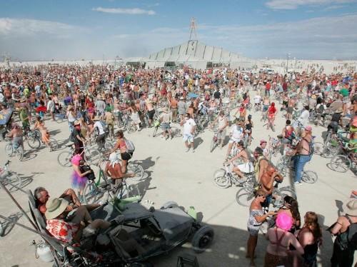 Burning Man founder thinks slavery helps explain his festival's lack of diversity