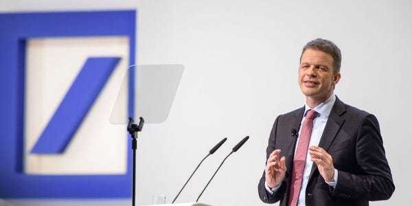 Deutsche Bank's malaise goes deeper than its tumbling share price - Business Insider