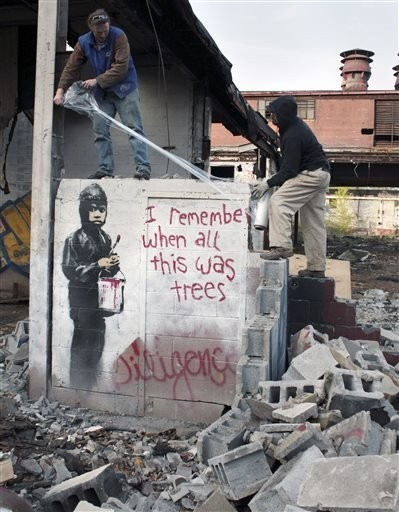 Banksy - Magazine cover