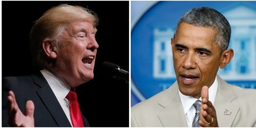 After Trump's second racially charged outburst, Barack Obama shared an op-ed condemning 'go back' rhetoric