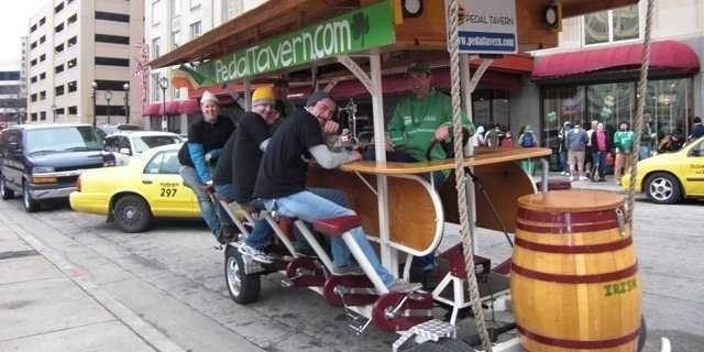 Pedal Tavern Legal In Milwaukee