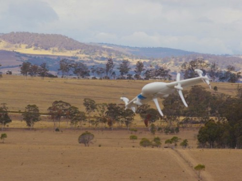 More details are being revealed about Google's drone delivery project