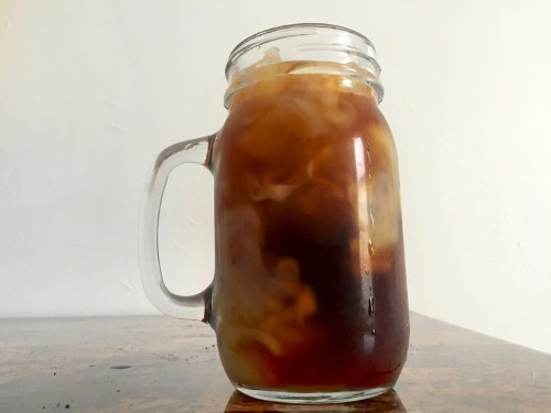 It's cheap and easy to make double-strength cold brew coffee at home
