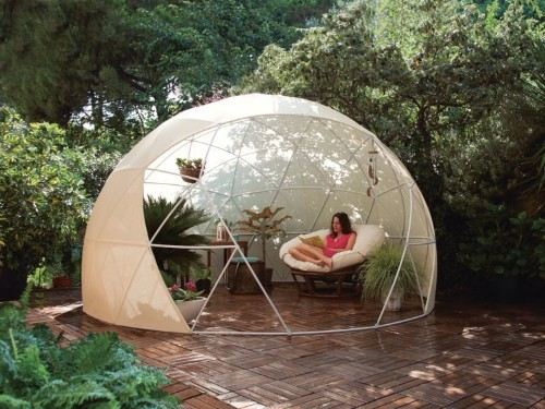 A $1,000 garden igloo promises to transform your backyard into a year-round paradise