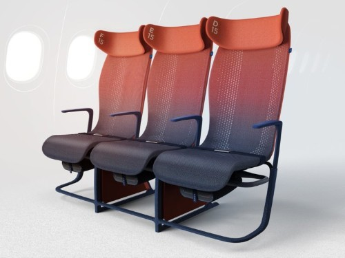 This futuristic Airbus smart seat prototype may make the future of economy flying a bit less miserable