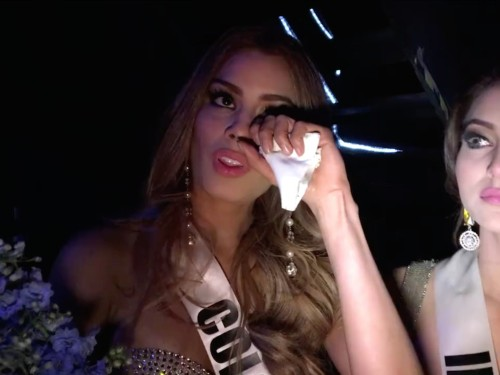 Miss Colombia had a graceful response after being mistakenly crowned Miss Universe