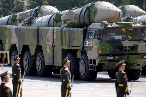 China just unveiled a new missile known as 'assassin's mace' that can travel 10 times faster than the speed of sound
