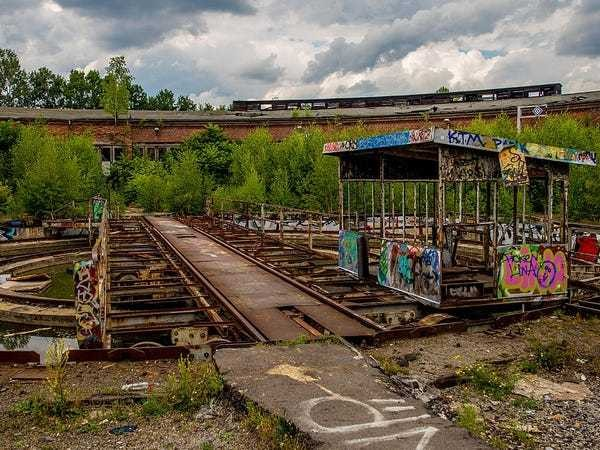 Abandoned train stations around the world and the history behind them - Business Insider