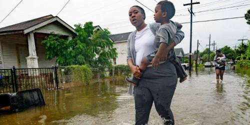 PHOTOS: Tropical Storm Barry headed for Louisiana, residents brace for worst