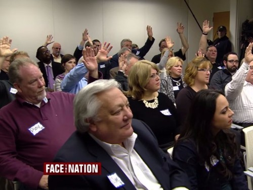 CBS aired an incredible focus group of Donald Trump supporters