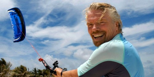 Billionaire Richard Branson says the idea for all 400 of Virgin's companies came from the same place