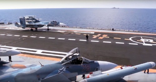 The commander of the Russian Navy says it's getting a nuclear-powered aircraft carrier — just not anytime soon