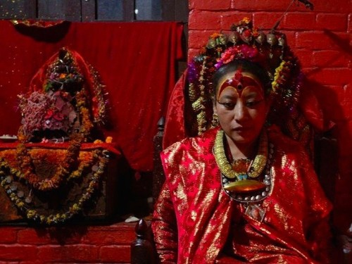 The Nepal earthquake forced this secluded 'living goddess' to walk the streets for the first time in her life