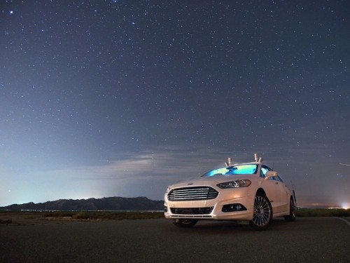 Ford's self-driving car can operate in complete darkness