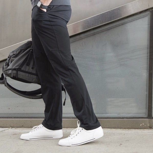 These are the pants that make my long daily commute much easier and more comfortable