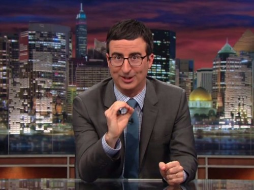 Watch John Oliver splice together 5 years of people predicting the end of Obamacare