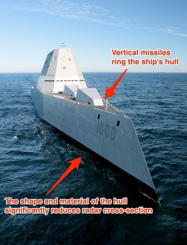 These are the features of America's most futuristic ship that just hit the waters