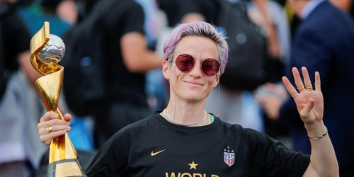 Megan Rapinoe rips into 'disgusting' Trump tweets, weighs in on 2020