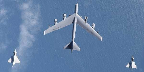 US B-52 bombers spent a month flying all over Europe, close to Russia - Business Insider