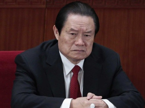 China Puts Former Security Chief Under House Arrest