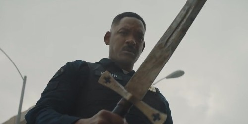 Watch the trailer for Netflix's new $90 million fantasy-thriller starring Will Smith