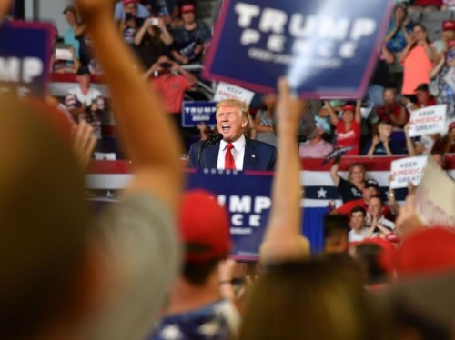 Trump praises supporters who chanted 'send her back' as 'patriots'