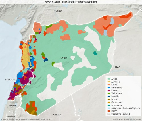 These 7 maps explain the Middle East